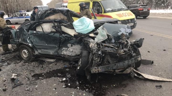 Женщину, пострадавшую в страшном ДТП у Комарово, выписывают из больницы