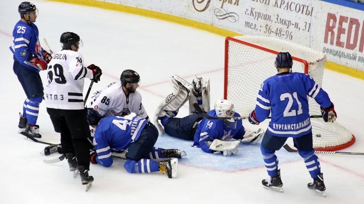 Вырвали победу в овертайме: «Зауралье» провело первый матч предсезонного турнира по хоккею