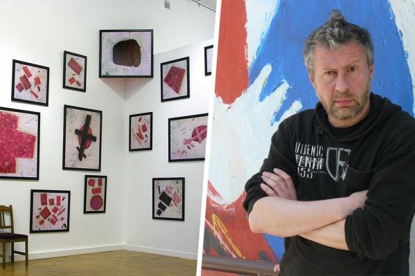 Работа новосибирского художника выполнена в стиле авангарда