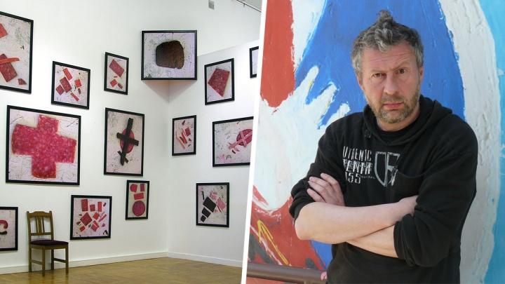 Новосибирский художник отдал Третьяковской галерее свои работы из хлеба и колбасы