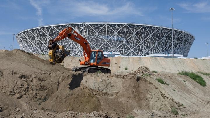 Готова к новому тест-драйву: ливнёвку «Волгоград Арены» подготовили к потопу и наводнениям