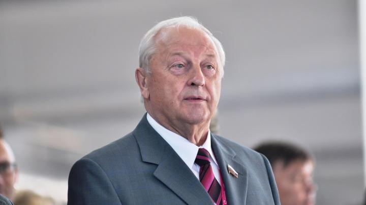 Эдуард Россель поддержал идею назвать аэропорт Кольцово в честь себя