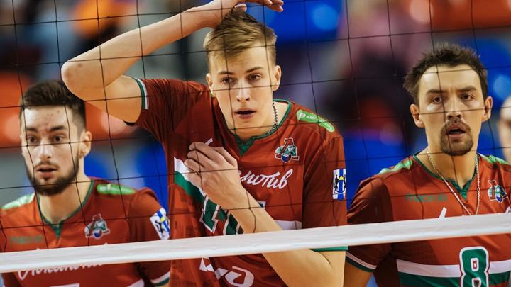 Ещё одна победа: волейболисты «Локомотива» обыграли соперников из Ленинградской области