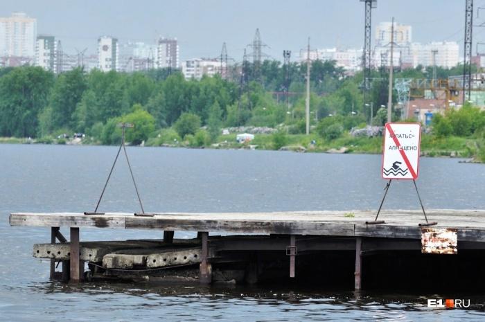 В подавляющем большинстве свердловских водоемов купаться сейчас запрещено
