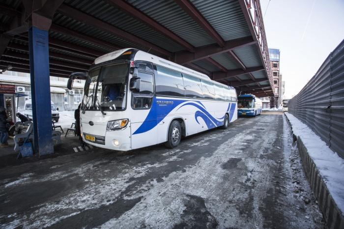 Автовокзал открыл продажу билетов на рейсы в новогодние каникулы