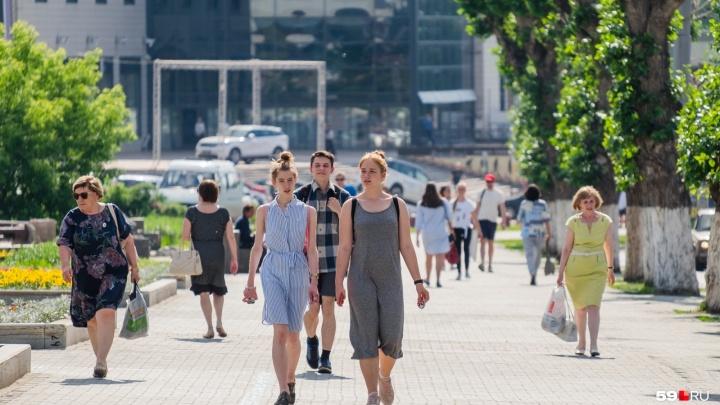 Небольшое потепление и дожди: рассказываем о погоде в Прикамье на выходные