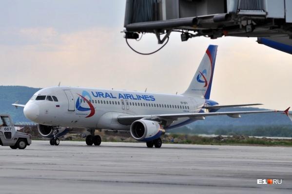 В аэропорту Домодедово совершил вынужденную посадку самолет «Уральских авиалиний»