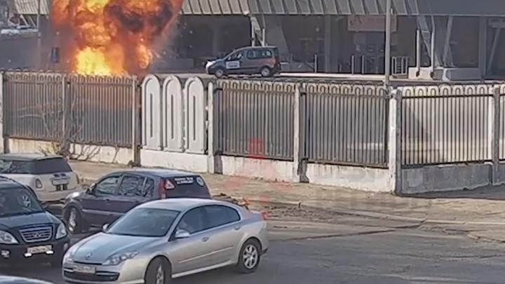 На стадионе «Шинник» устроили взрыв ради фильма