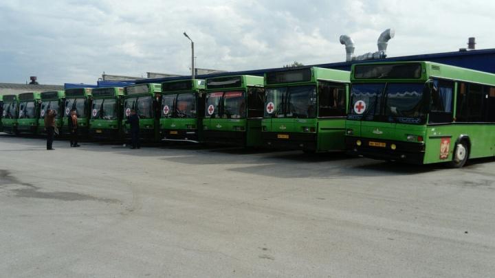 Им нужнее: муниципальные автобусы сняли с маршрутов ради военных учений