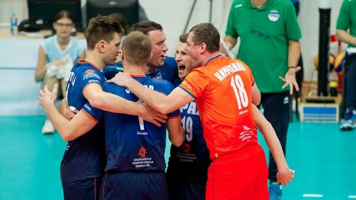 Волейболисты уфимского «Урала» потерпели второе поражение в чемпионате России