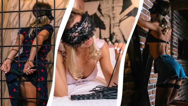Качели любви и кляпы: любуемся самарской красоткой в интерьерах БДСМ-отеля (18+)