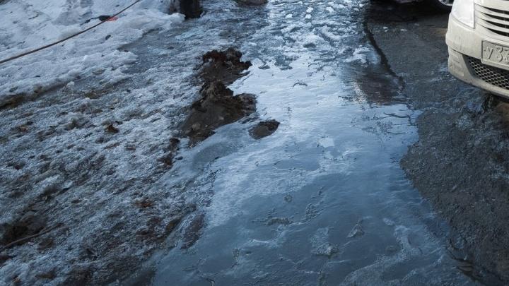 В дома на Северо-Западе, попавшие под масштабное отключение из-за аварии на сетях, вернули воду