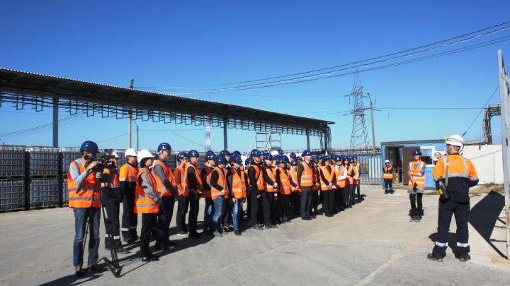 Волгоградские студенты познакомились с работой ГремячинскогоГОКа