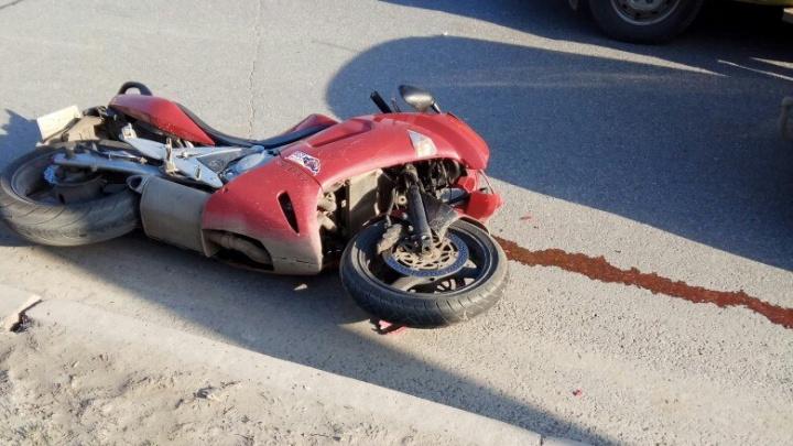 Мотоциклисту, пострадавшему в аварии в Уфе, требуется кровь