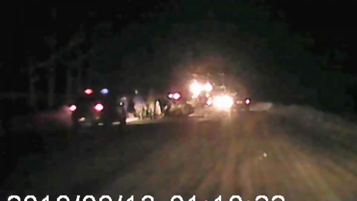 Груда железа на дороге: появилось видео с места смертельной аварии с «Хондой» и «Лексусом» на трассе