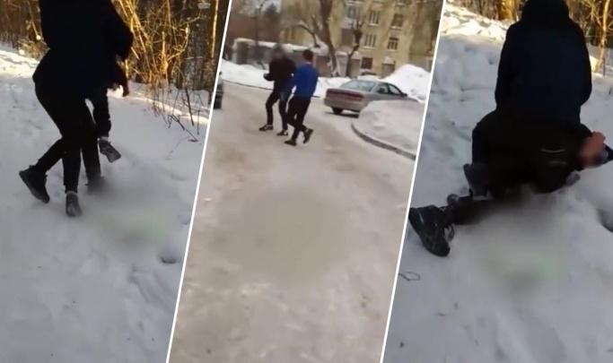 Нападения на школьников в Калининском районе: под уголовное дело попали два подростка