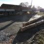 ГИБДД опубликовала видео с места аварии, в которой погиб водитель лесовоза в Челябинске