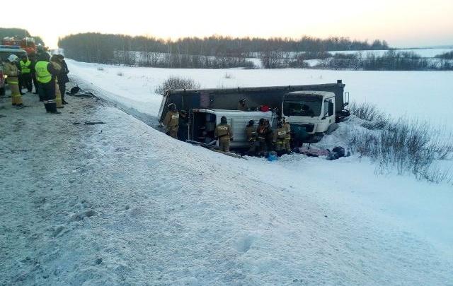 Страховая начала приём заявлений от родственников жертв аварии с автобусом на М-5