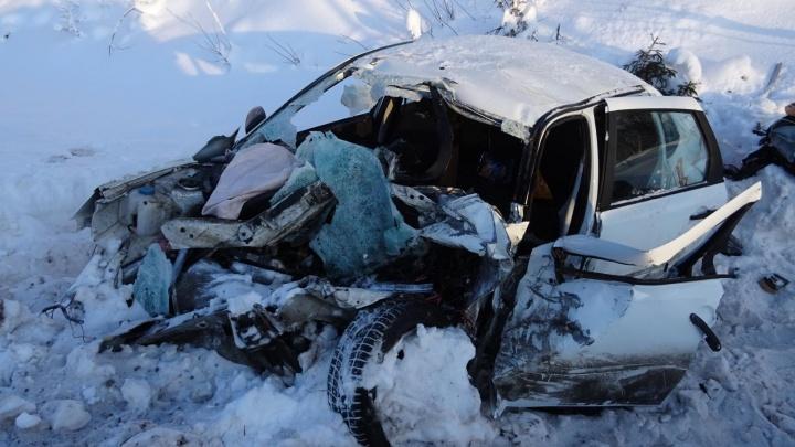 Погиб молодой человек: в Пинежском районе столкнулись два лесовоза и легковушка