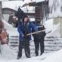 После вчерашнего снегопада из Архангельска вывезли около 127 тонн снега