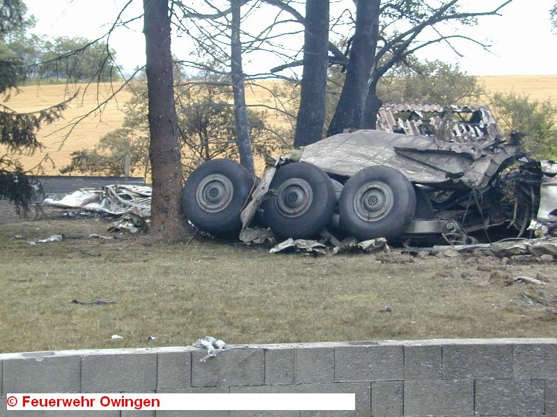 Спасателям сразу же после падения самолетов позвонил очевидец — он услышал звук взрыва