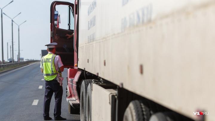 В Волгоградской области из-за жары закрыли все трассы для дальнобойщиков