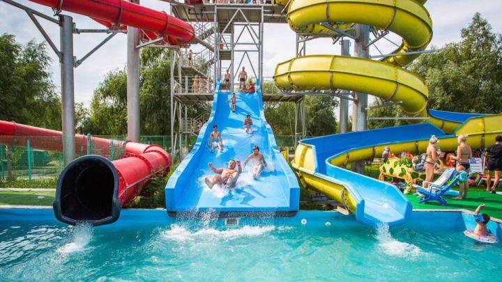 Водные развлечения в пределах Омска: на «Пиратском острове» заработал аквапарк под открытым небом
