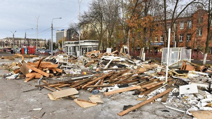 Дело Слепцова живёт: в Ярославле сносят старые ларьки