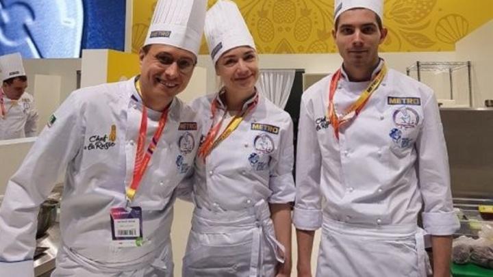 Пермяки заняли четвертое место на всероссийском кулинарном чемпионате Chef a la Russe