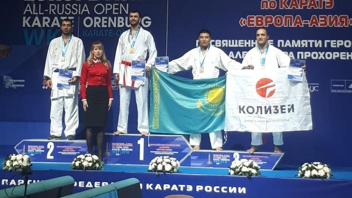 Волгоградский тяжеловес отбил у каратистов России бронзовую медаль