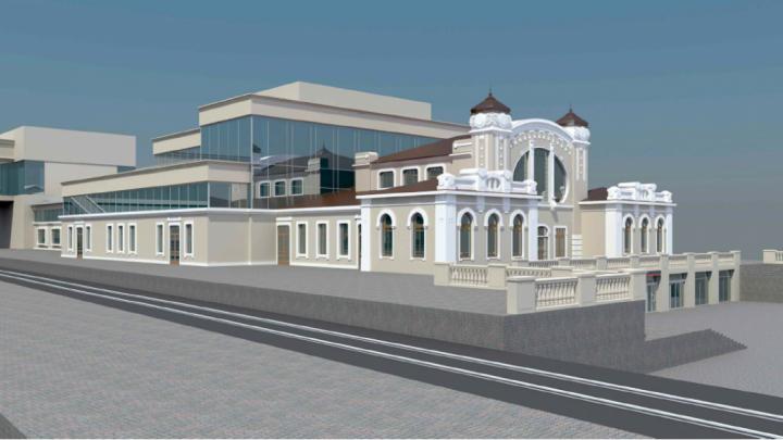 Жители края выберут дизайн нового вокзала на Перми II