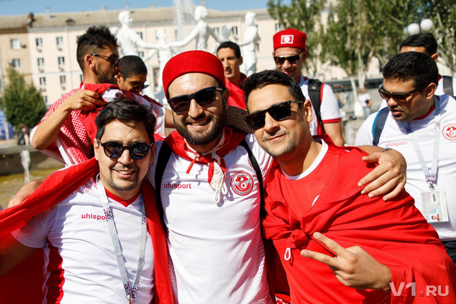 Многие тунисцы сегодня уедут в Москву после матча