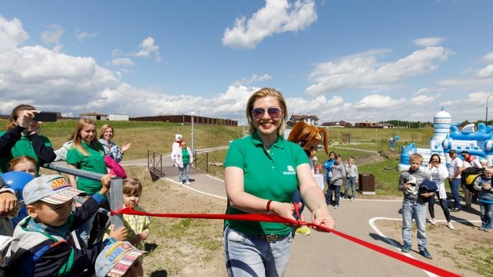 Катание на пони, тест-драйв и мастер-класс по зумбе: в «Альпийской долине» открылся парк отдыха