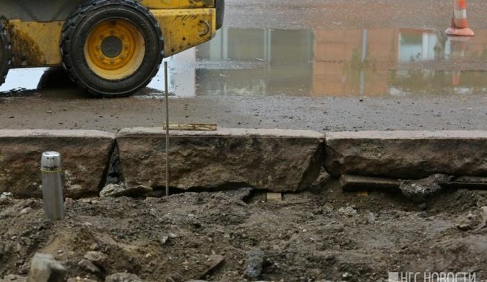 Скандальные ремонтники улицы Маркса готовятся за 22 миллиона менять бордюры по Ленина