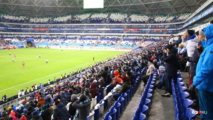 На «Самара Арене» после матча «Крылья Советов» — «Рубин» умер мужчина