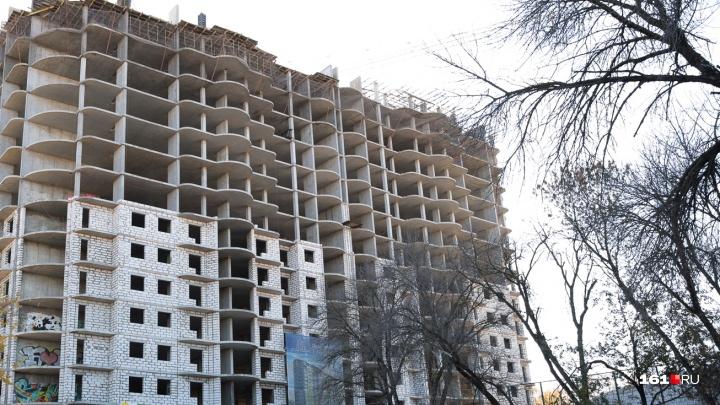 Компания, выкупившая «милицейский недострой» в Ростове, решила избавиться от обманутых дольщиков