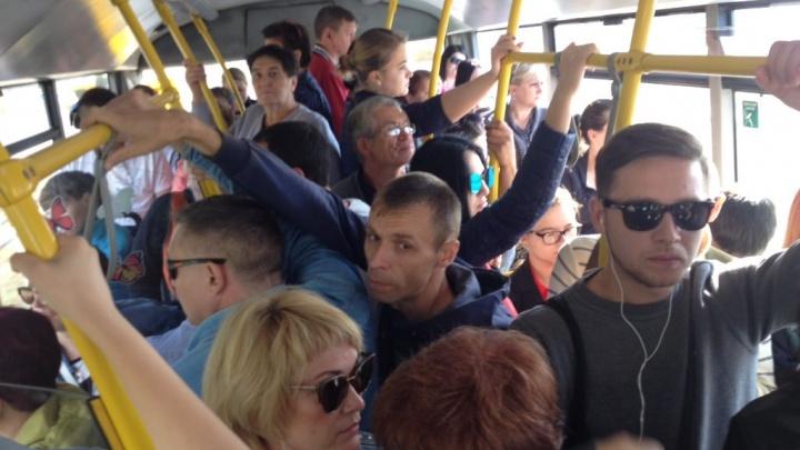 «Наполняемость — средняя»: дептранс проверил работу общественного транспорта в Красноглинском районе