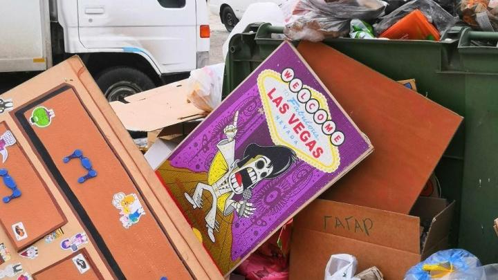 Новогодние каникулы в дымке и под кучами мусора: как прошли первые дни 2019 года в Красноярске
