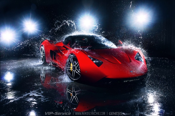 На проектирование электрического привода для создания электромобиля на базе спорткара уйдёт около полутора лет.