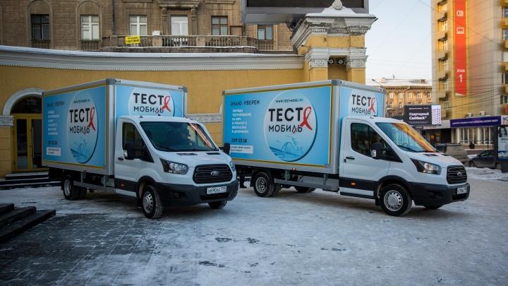 Бизнесмен подарил Новосибирску медицинские машины по 5 миллионов рублей