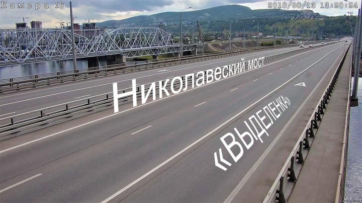 Дорожники объяснили, зачем выделенная полоса на 4-м мосту, где ходит только один автобус