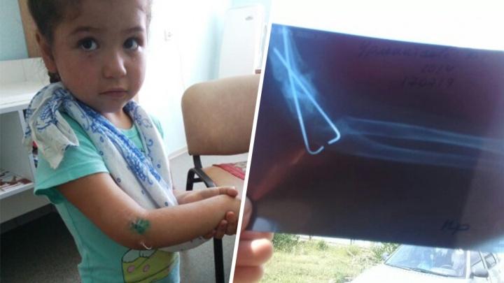 Мама пострадавшей в аварии 4-летней девочки из Башкирии просит помощи неравнодушных