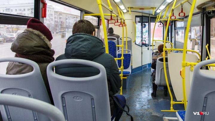 Часть автобусов маршрута №2 пустили через железнодорожный вокзал Волгограда