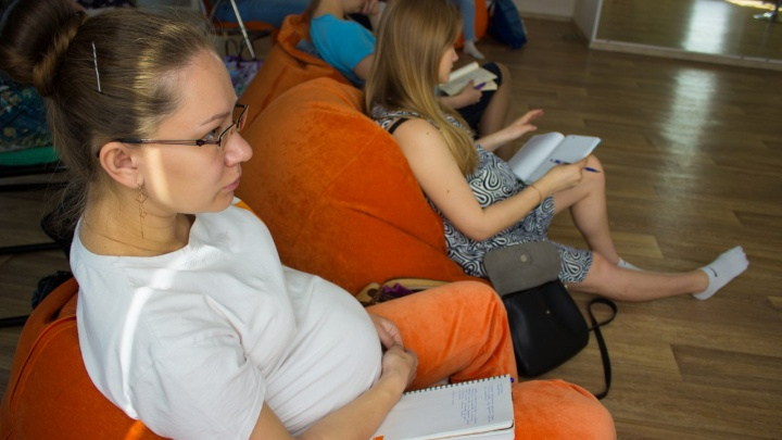 «Капелька» проводит встречи по подготовке к материнству