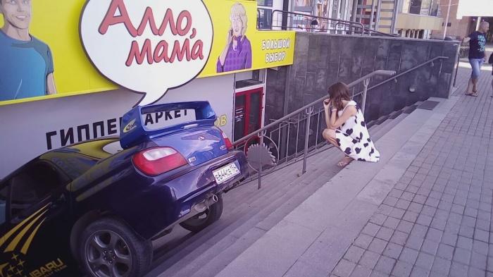 Авария произошла напротив Центрального рынка утром 25 июня