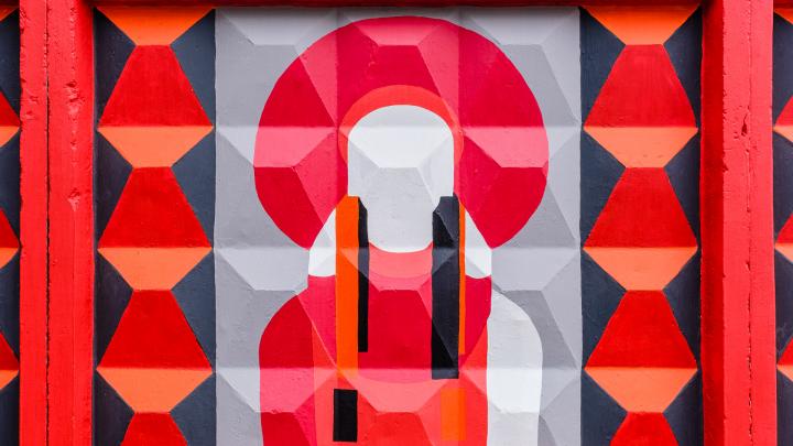 «Кокошник как русский космос». Смотрим на новые заборы проекта «Длинные истории Перми — 2019»