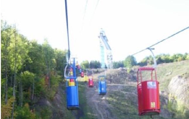 В Уфе отремонтировали канатную дорогу