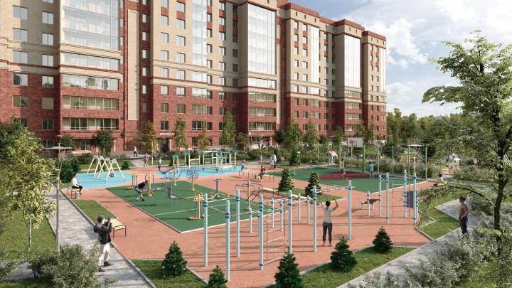 В новом жилом комплексе продают семейные квартиры от 13 485 рублей в месяц