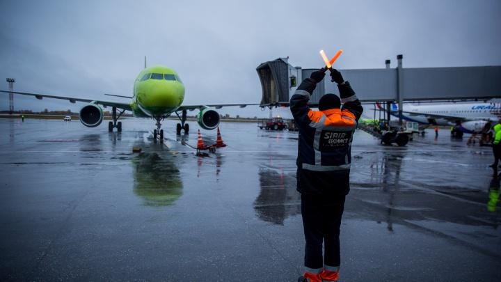Отменены авиарейсы из Новосибирска в Таджикистан