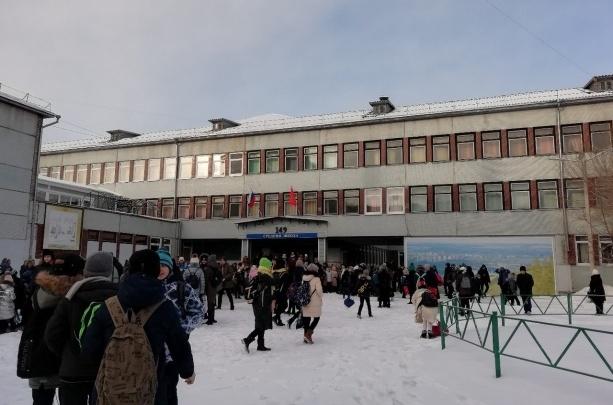 Названы школы Красноярска с самыми опасными дорогами